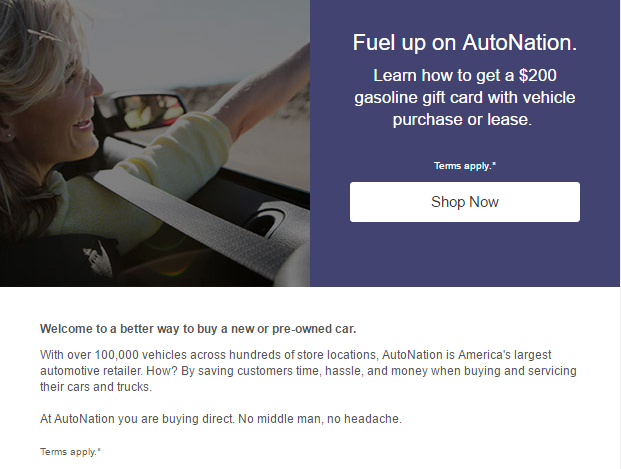 American Express Car Buying >> Get A 200 Gasoline Gift Card When You Use American Express At