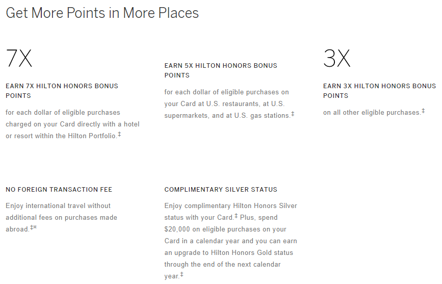hilton honors reservations using points