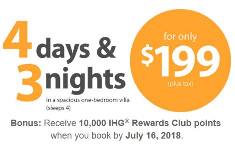 Stay 4 Days & 3 Nights In Las Vegas Or Orlando Plus Earn