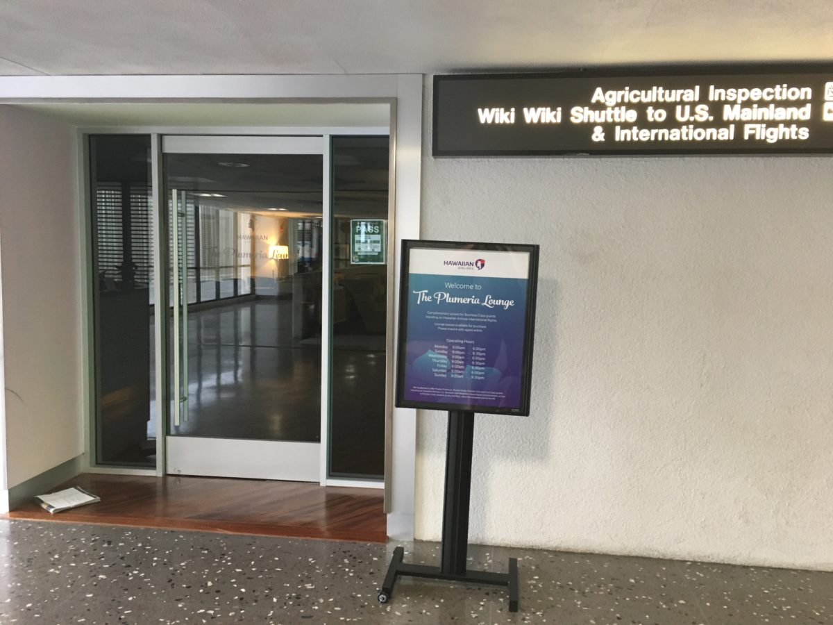 psa honolulu s plumeria lounge opens at flying high on points