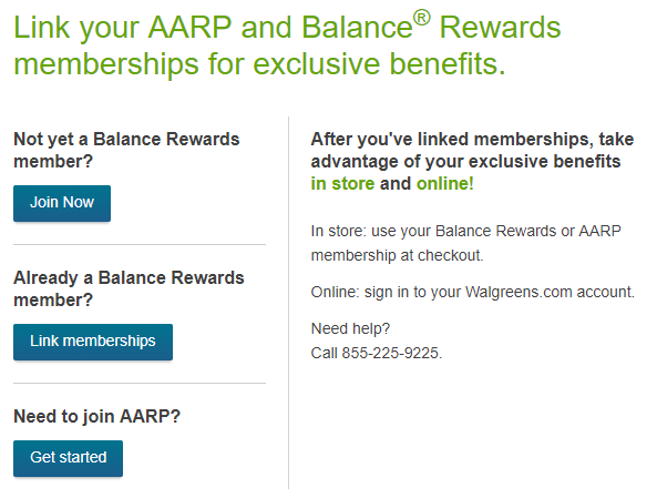 Get A Free 1 Year AARP Membership With A $15 Walgreens