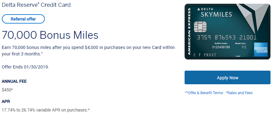 Americanexpress Com Delta >> Expired 1 30 2019 Better Than Public Offer Earn 70 000