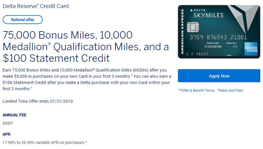 Americanexpress Com Delta >> Expires 7 31 2019 Better Than Public Offer Earn 75 000