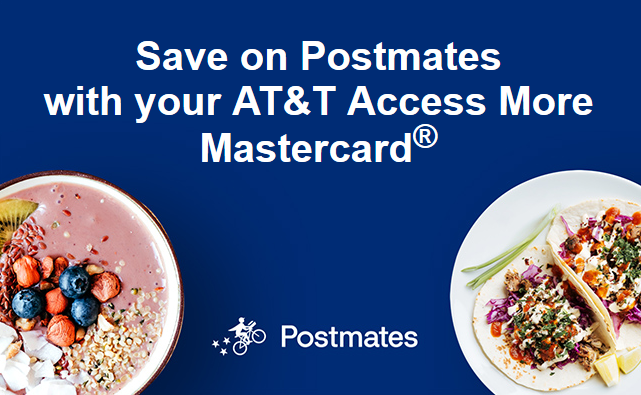 Hurry! Save Up To $25 On Postmates With Your Citi AT&T